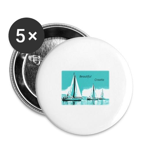 Beautiful Croatia - Buttons small 1'' (5-pack)