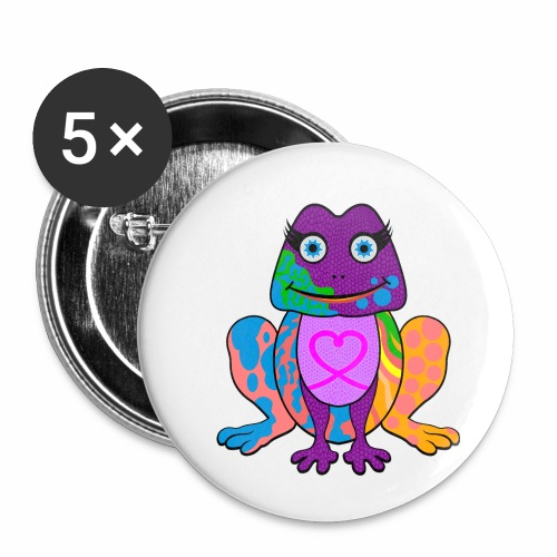 I heart froggy - Buttons small 1'' (5-pack)
