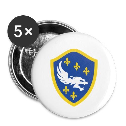 Bosnian Liljan - Buttons small 1'' (5-pack)