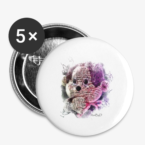 Monchichi - Buttons small 1'' (5-pack)