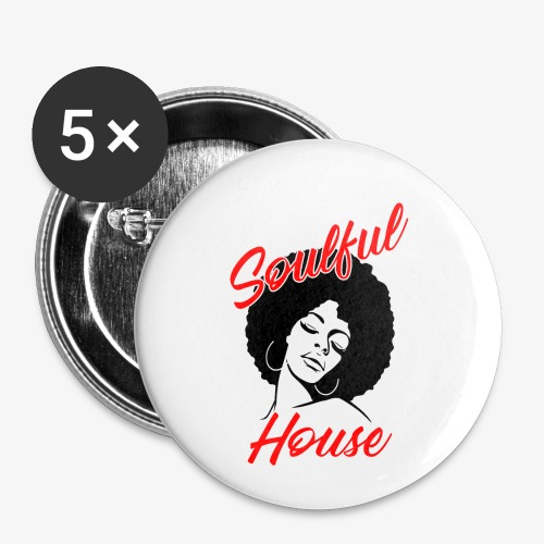 Soulful House - Buttons small 1'' (5-pack)