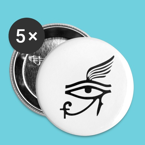 The Noble Eye Button - Buttons small 1'' (5-pack)