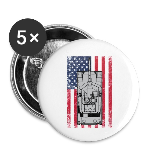 4th of July - Buttons small 1'' (5-pack)