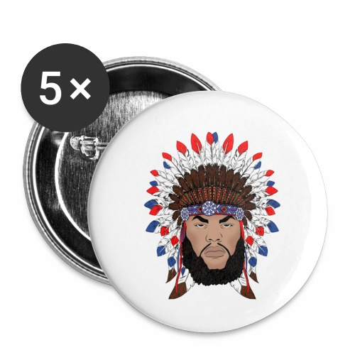 Dane Calloway American Indian Logo - Buttons small 1'' (5-pack)