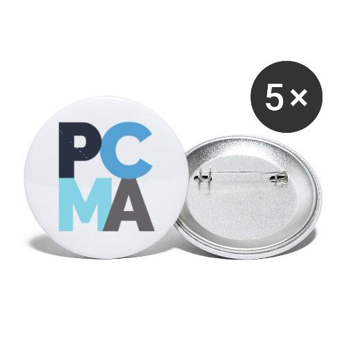 PCMA Color Block - Buttons small 1'' (5-pack)