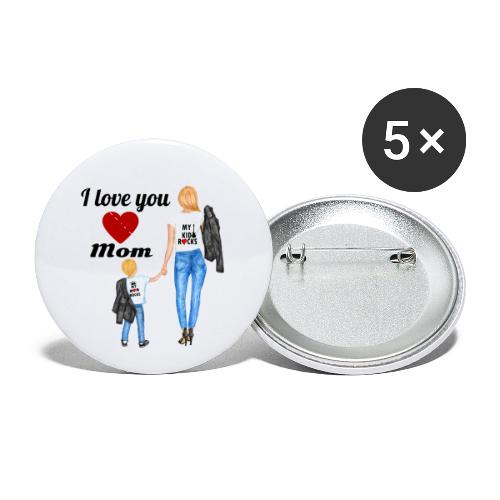 Mother's day gift from daughter, Mother's Day Gift - Buttons small 1'' (5-pack)