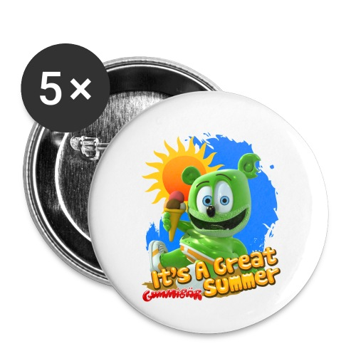 It's A Great Summer - Buttons small 1'' (5-pack)