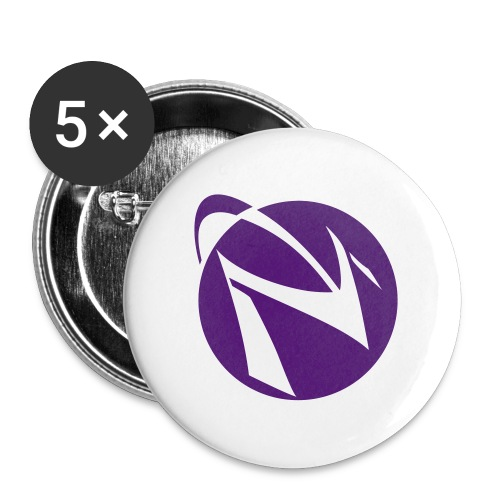 Spacemacs-fo-lavender - Buttons small 1'' (5-pack)