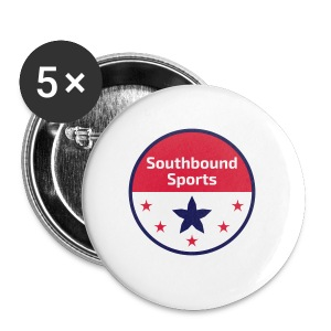 Southbound Sports Round Logo - Small Buttons