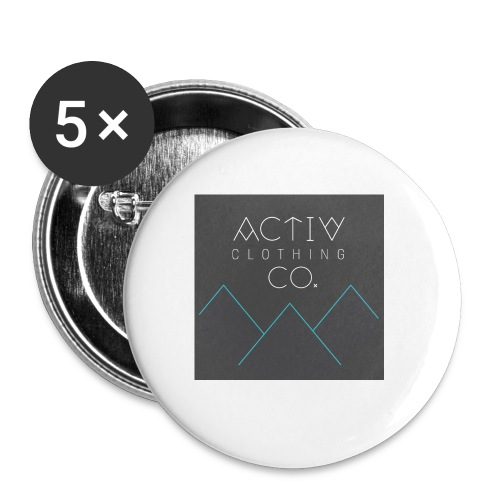 Activ Clothing - Buttons small 1'' (5-pack)