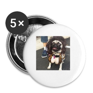 Chloe as Snooki Pug - Small Buttons
