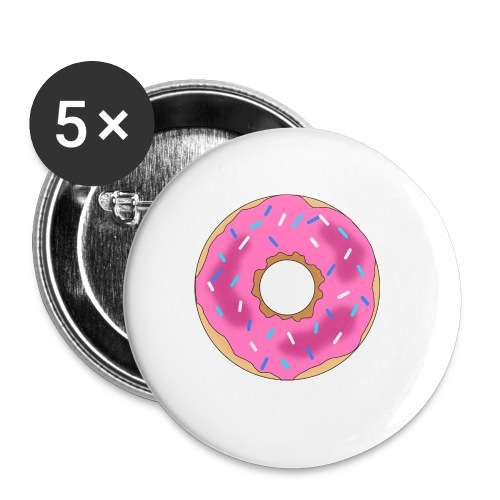 Donut - Buttons small 1'' (5-pack)