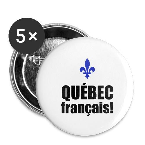 QUÉBEC français - Buttons small 1'' (5-pack)