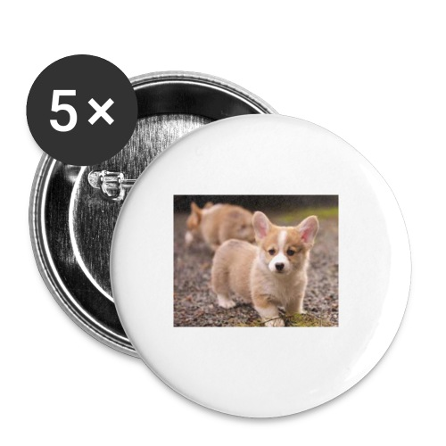 Puppy Pin - Small Buttons