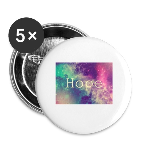 hope - Buttons small 1'' (5-pack)