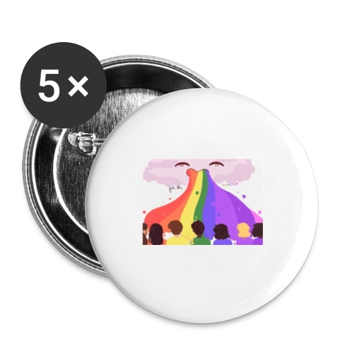 Feel the rainbow - Small Buttons