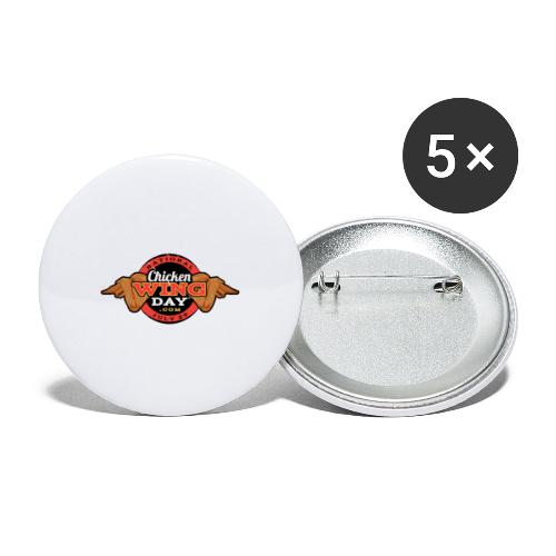 Chicken Wing Day - Buttons small 1'' (5-pack)