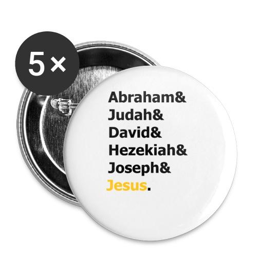Genealogy of Jesus (Matthew 1) - Small Buttons