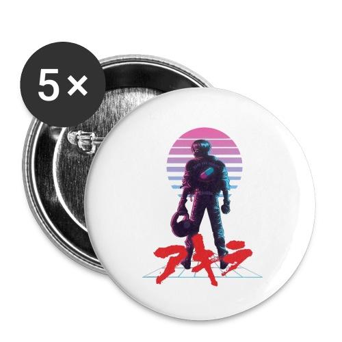 akira Kaneda - Buttons small 1'' (5-pack)
