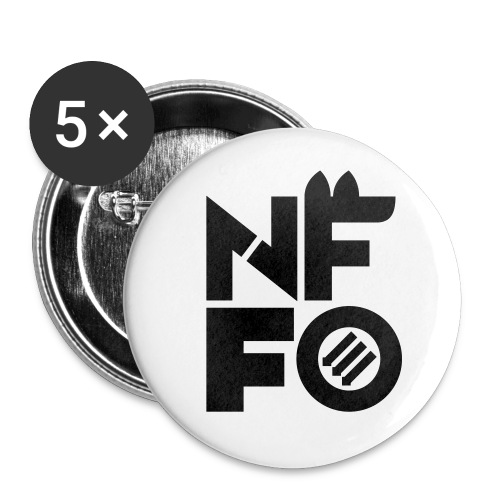 NFFO - Buttons small 1'' (5-pack)