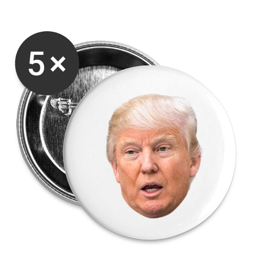 I will build a wall - Buttons small 1'' (5-pack)
