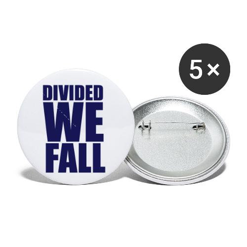 DIVIDED WE FALL - Buttons small 1'' (5-pack)