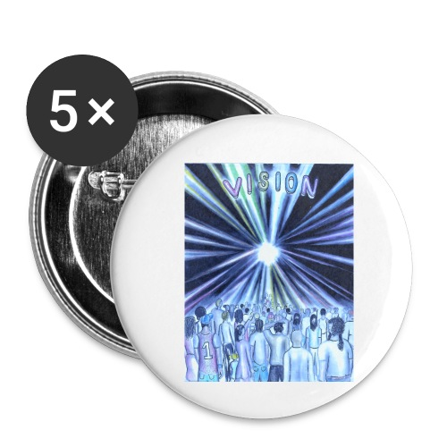 vision_color_1_Ink_LI - Buttons small 1'' (5-pack)