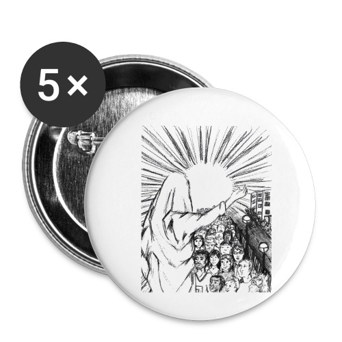 Knowing Jesus - Buttons small 1'' (5-pack)