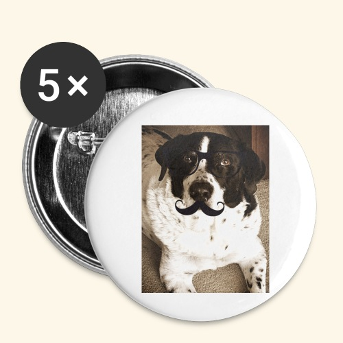 Old Pongo - Buttons small 1'' (5-pack)
