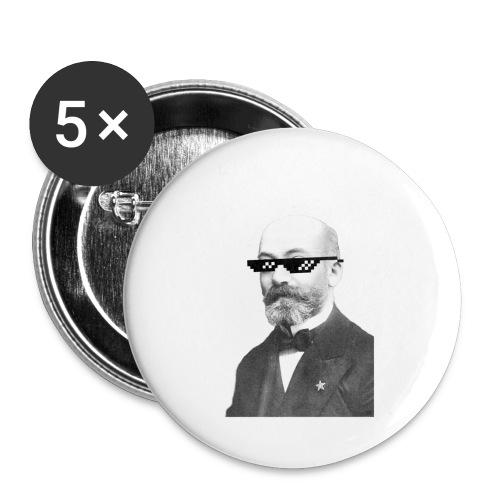 Zamenhof Shades (BW) - Buttons small 1'' (5-pack)