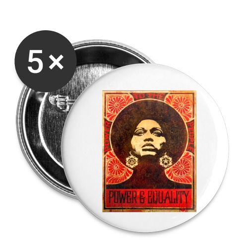 Angela Davis proPoster - Buttons small 1'' (5-pack)
