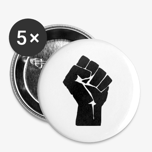 Resist With the Fist - Buttons small 1'' (5-pack)