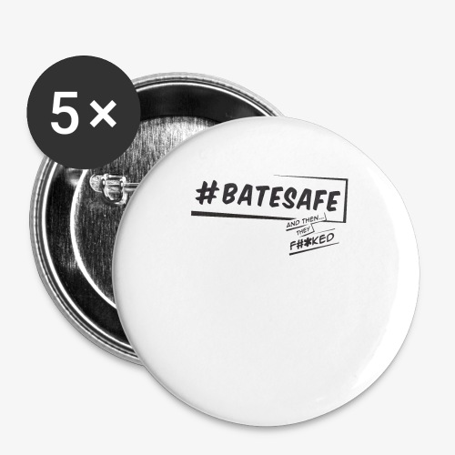 ATTF BATESAFE - Buttons small 1'' (5-pack)