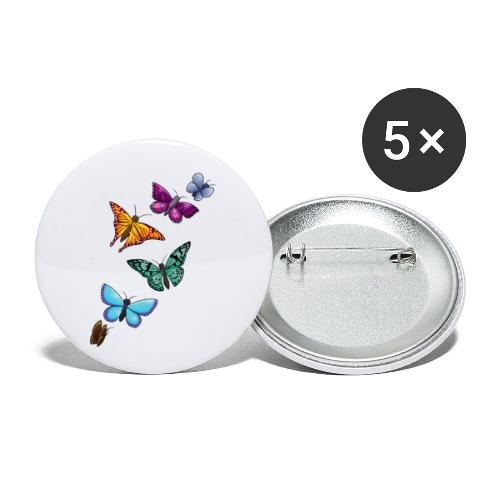 butterfly tattoo designs - Buttons small 1'' (5-pack)