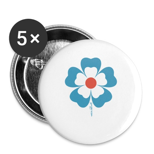 flower time - Small Buttons