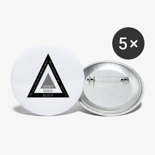 Spirit Soul Body - Buttons small 1'' (5-pack)