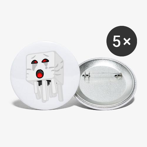 NetherGhast - Buttons small 1'' (5-pack)