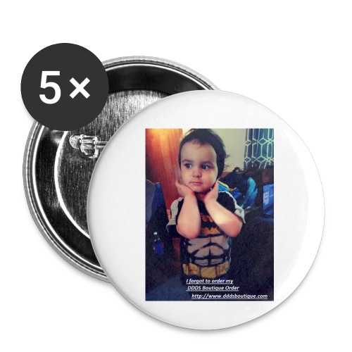 DDDs Boutique Merch - Buttons small 1'' (5-pack)