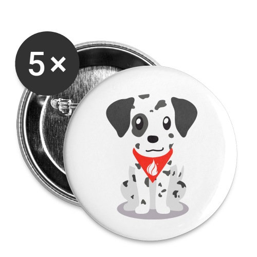 Sparky the FHIR Dog - Children's Merchandise - Buttons small 1'' (5-pack)