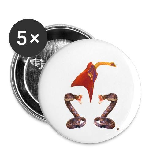 Bad A Trio - Buttons small 1'' (5-pack)