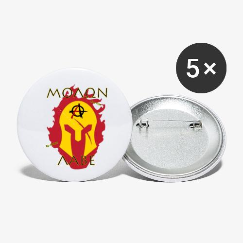 Molon Labe - Anarchist's Edition - Buttons small 1'' (5-pack)