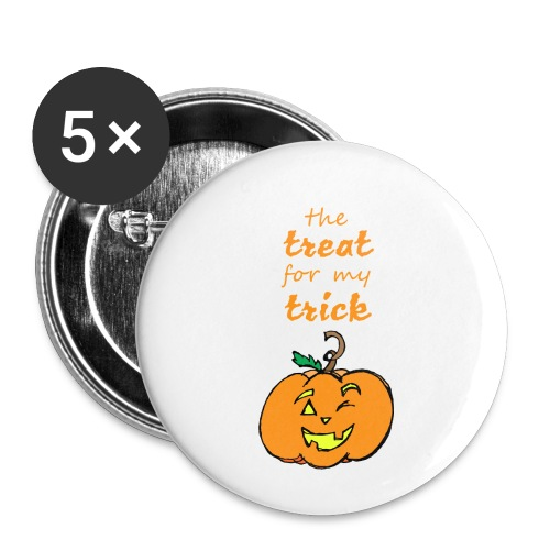 Trick or Treat Maternity - Buttons small 1'' (5-pack)