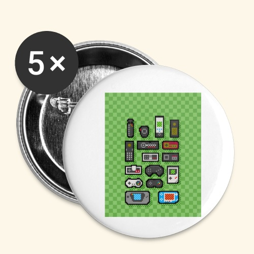 controller handy - Buttons small 1'' (5-pack)