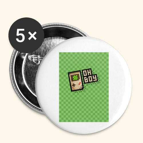 oh boy handy - Buttons small 1'' (5-pack)
