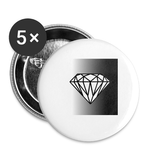 Faded Diamond - Buttons small 1'' (5-pack)