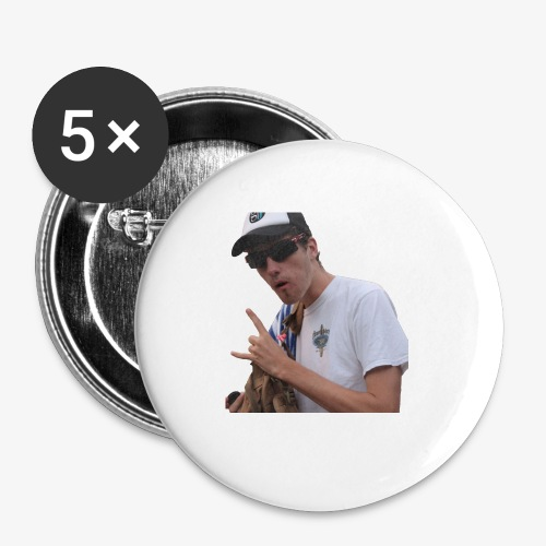 Big Bad Wolf - Buttons small 1'' (5-pack)