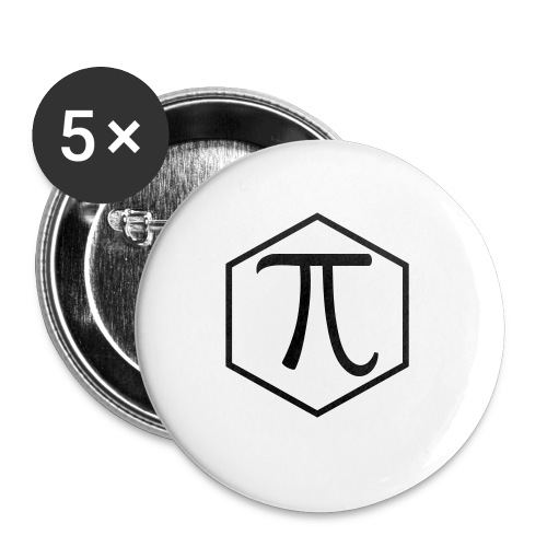 Pi - Buttons small 1'' (5-pack)