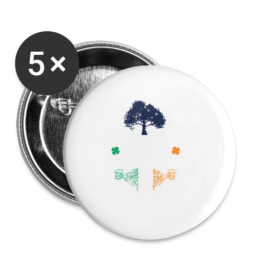 ALASKAN WITH IRISH ROOTS - Buttons small 1'' (5-pack)