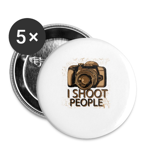 Photographer - Buttons small 1'' (5-pack)