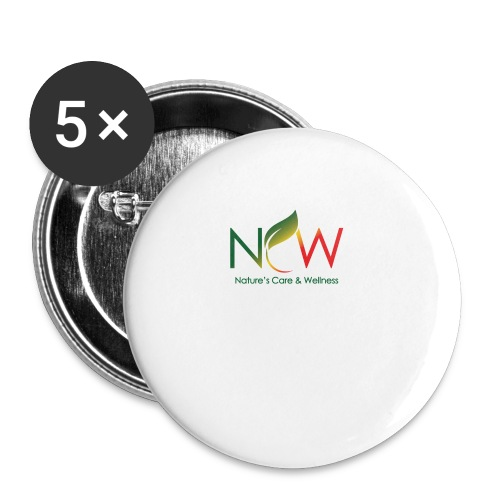 Ncw Big Logo - Buttons small 1'' (5-pack)